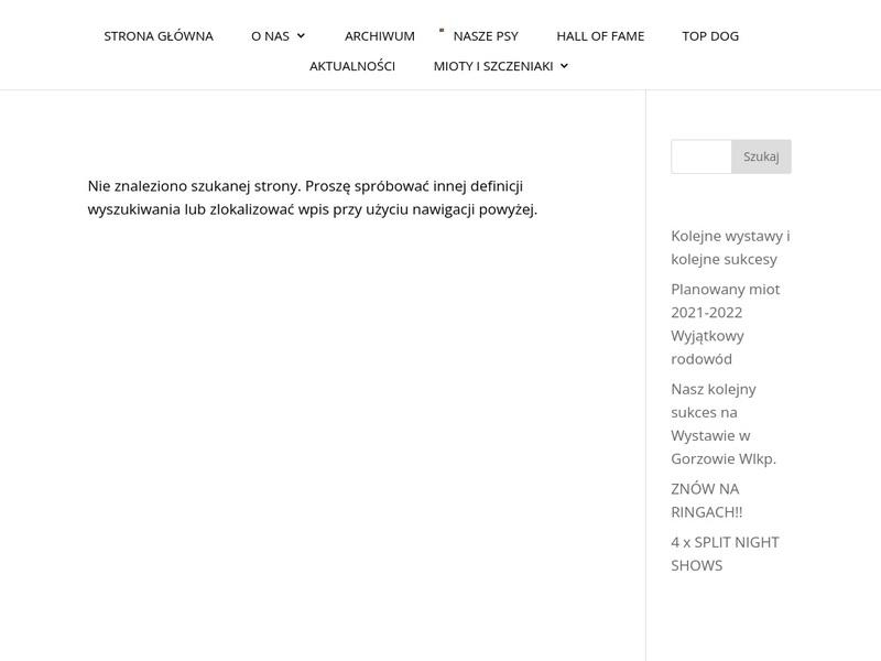 Screenshot von www.mastiftybetanski.com/index_eng.html